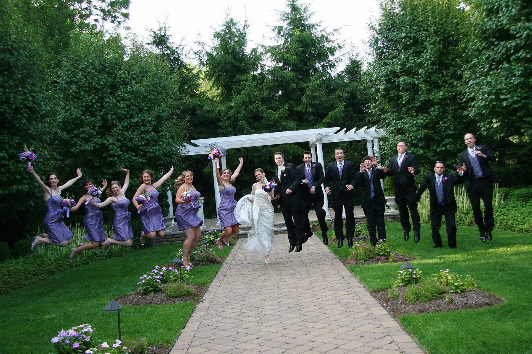 Bridal Party,Jump for Joy